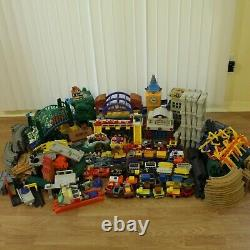 400+ GeoTrax Fisher Price Train Sets Track Huge Lot Grand Central Disney Cars