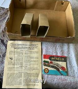 50's Marx Steam Type Electric Train Set #8994-Complete-Cars-Controls-Track-Box +