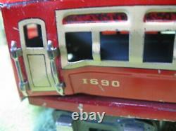 Antique 1936-37 Lionel Lines Commodore Vanderbilt 242 Train Set Cars Track Etc