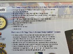 BACHMANN BSA SCOUT SPECIAL HO SCALE TRAIN SET E-Z APP control ez track 01503 NEW