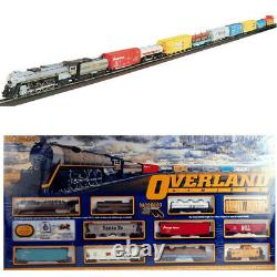 Bachmann 00614 Overland Limited Electric Train Set with E-Z Track HO Scale