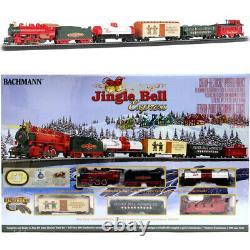 Bachmann 00724 Jingle Bell Express Electric Train Set with E-Z Track HO Scale