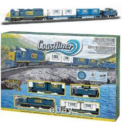 Bachmann 00734 Coastliner Electric Train Set with E-Z Track HO Scale