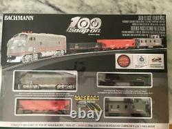 Bachmann 100 Year Snap-on Electric Train set E-Z track