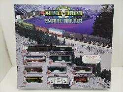 Bachmann Empire Builder EZ Track System N Scale Train Set Santa Fe 3780 VGC