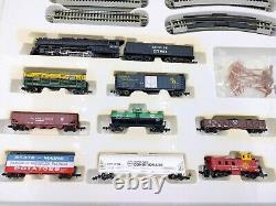 Bachmann Empire Builder Electric Train set N Scale E-Z Track #24009