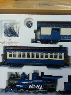 Bachmann G Guage Blue Comet Big Hauler Complete Train Set Track & Engine etc