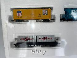 Bachmann N Scale 24008 Explorer Electric E-Z Track Train Set Mint In Box