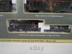 Bachmann ON 30 White Pass & Yukon Train set withtrack