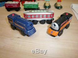 Brio Wooden Train Set LOT 150+ pc. Tracks, Thomas & Friends