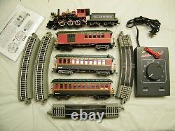 Classic Department 56 O Scale Narrow Gauge Passenger Train Set Runs on HO Track