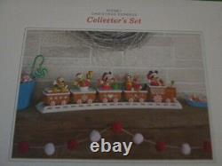 Complete Box Set Disney Christmas Express Gingerbread Train Tracks 2016 Hallmark