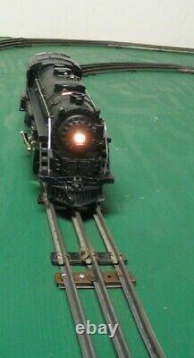 Complete Set Lionel 1664 Locomotive Train Tender 3 Tin Litho Cars Tracks More