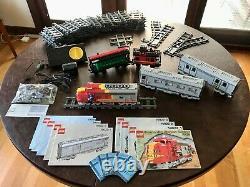 Complete Set Lot Lego Santa Fe Super Chief Train + Cars + Track + Caboose + More