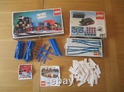 Complete Vintage Lego 171 TRAIN, 107 MOTOR, 154 155 Junctions & 150 151 TRACK