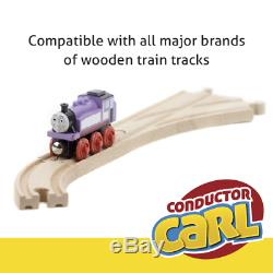 Conductor Carl Wooden Train and Track Set Toys Table Thomas Friends Chuggington