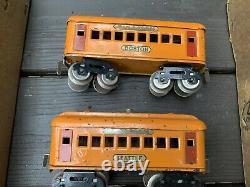 DORFAN BOXED PASSENGER TRAIN SET 225 With#51 ELEC CAB LOCO W Tracks