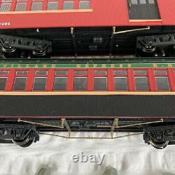 Dept 56 Village Express Electric Train & Track Set #56.52710 As Is Untested