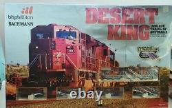 Desert King BHP Billiton Bachmann HO scale gauge train set locomotive track box
