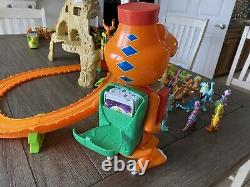 Dinosaur Train Learning Curve Jim Henson LOT with Time Tunnel Mountain Track Set