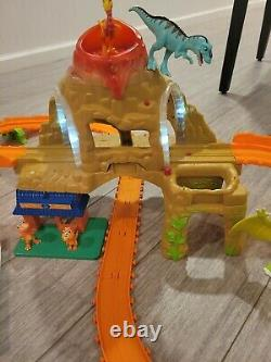 Dinosaur Train train track motorized set mountain time tunnel WORKS don tiny