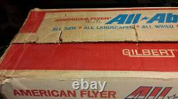 Gilbert American Flyer Train Set BOX 1960 with Pike Master Track Panels #20811