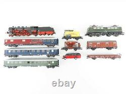 HO Scale Marklin 29855 Digital Premium Starter Train Set with Track & Controller