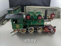Hawthorne Village Thomas Kinkade Christmas Express Train Set 3 Pcs & (10) Tracks