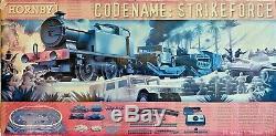 Hornby 00 Gauge R1147'codename Strikeforce' Train Set Loco/wagons/track Etc