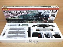 Hornby R1039 Flying Scotsman Train Set inc Loco, Coaches, Track, Mat, PSU etc 00