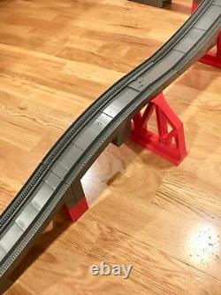 Huge Set Lego Duplo Thomas And Friends Gray Track Train Bridges