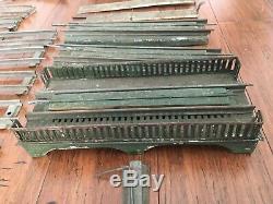 Ives Train Set Vintage Pre-war & No. 64385 65 66 67 Track, Bridge, Lumber Car