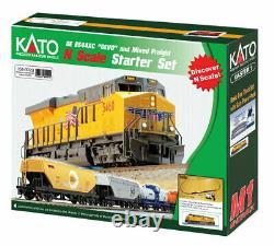 KATO 1060023 N Union Pacific ES44AC GEVO Freight Train Set & TRACK AND POWER