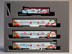 KATO N SCALE 2016 OPERATION NORTH POLE STARTER TRAIN SET oval track 106-0036 NEW