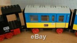 LEGO 4.5V 7710 Push-Along Passenger Steam Train 4.5 Volt Railway Track Eisenbahn