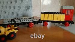 LEGO 4.5V 7720 Diesel Freight Train Set 4.5 Volt Railway Track Eisenbahn