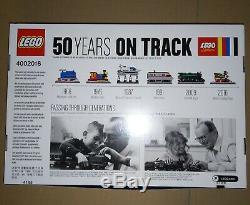 LEGO #4002016 KLADNO Christmas Gift 2016 employee gift 50 Years On Track