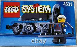 LEGO 4533 SNOWPLOW TRAIN TRACK SNOW REMOVER 9 Volt Train Railway NEW