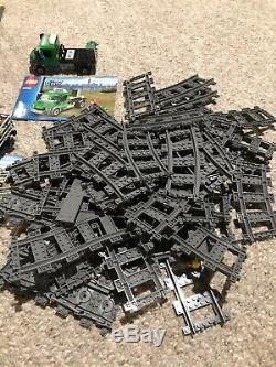 LEGO 6059267 City Trains Cargo Train 60052 With Extra Tracks. 99% Complete