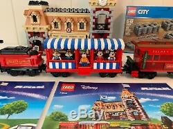 LEGO 71044 Disney Train and Station 2925pcs 100% Complete Extra Track Box