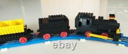 LEGO 725 vintage 12V Freight Train and Track with instructions, RARE