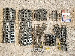 LEGO 9v train track 4250/4515/4519/4531 65 pieces total