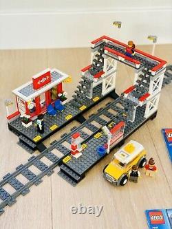 LEGO CITY 7937 100% COMPLETE BONUS Tracks