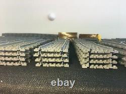 LEGO City 265 x Curved, Straight, Switch, Cross Track Train Rails NEW BULK LOT