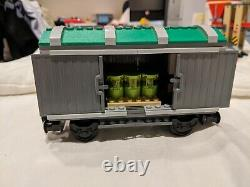 LEGO City 3677 Red Cargo Train -100% Complete with Power Functions, Track, Manuals