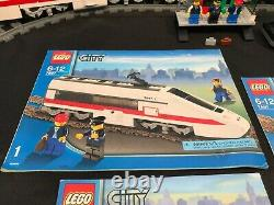 LEGO City 7897 Passenger Train 2006 Complete with Minifigs, Manual, Track Remote