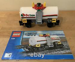 LEGO City 7939 Cargo Train 100% COMPLETE with Tracks & Power Functions No Box