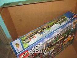 LEGO City Cargo Train 60198 Remote Control Train Building Set with Tracks