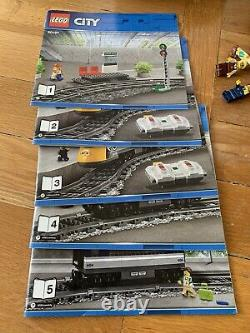 LEGO City Passenger Train (60197) With Extra Track! Mini figs And Instructions