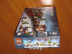 LEGO Creator Expert Winter Holiday Train set 10254 engine car caboose tracks NEW